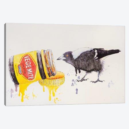 Happy Little Vegemite Canvas Print #LVE45} by Luna Vermeulen Canvas Print
