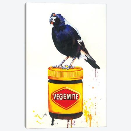 Happy Little Vegemite Too Canvas Print #LVE46} by Luna Vermeulen Canvas Print