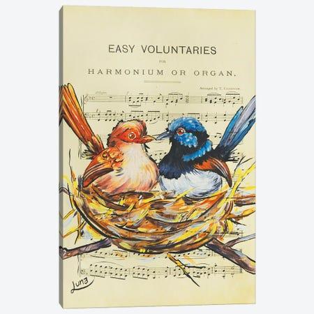 Harmonium Canvas Print #LVE47} by Luna Vermeulen Art Print