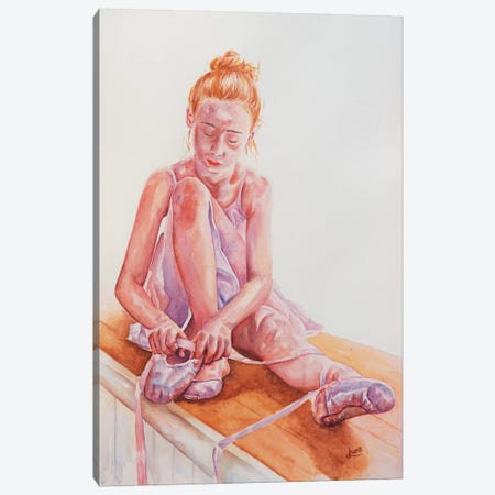 Hopes And Dreams Canvas Print #LVE49} by Luna Vermeulen Canvas Art