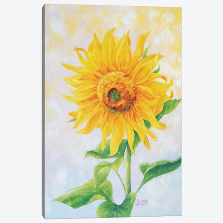 I See Sunshine Canvas Print #LVE51} by Luna Vermeulen Canvas Art Print