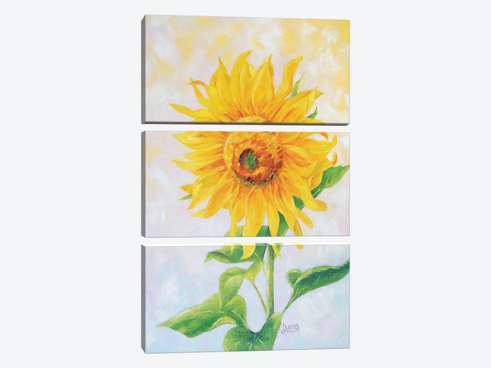 I See Sunshine by Luna Vermeulen 3-piece Canvas Art