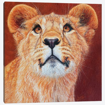 If Looks Could Kill 3-Piece Canvas #LVE53} by Luna Vermeulen Art Print
