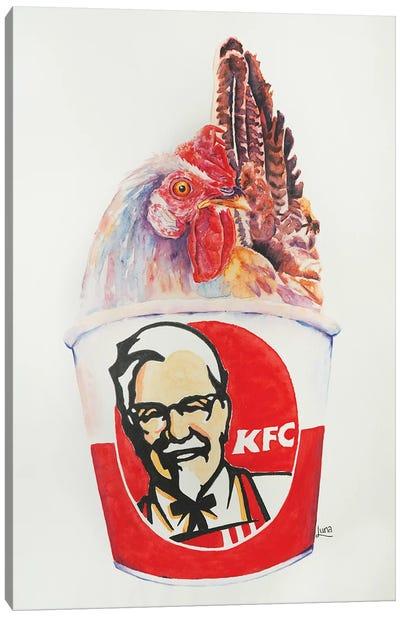 Kentucky Fried What Canvas Art Print