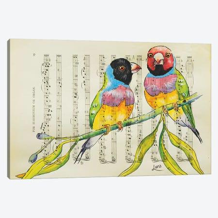 Love Is Love Canvas Print #LVE66} by Luna Vermeulen Art Print