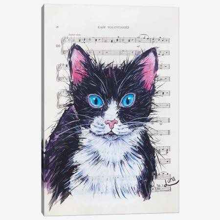 Meow Canvas Print #LVE71} by Luna Vermeulen Canvas Art Print