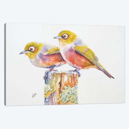 Mr & Mrs Smith Canvas Print #LVE75} by Luna Vermeulen Canvas Artwork
