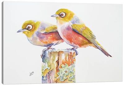 Mr & Mrs Smith Canvas Art Print