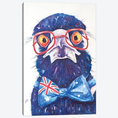 Mr Australia Canvas Print #LVE76} by Luna Vermeulen Canvas Artwork