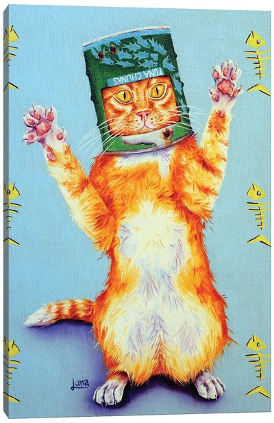 Ned Kitty Canvas Art Print