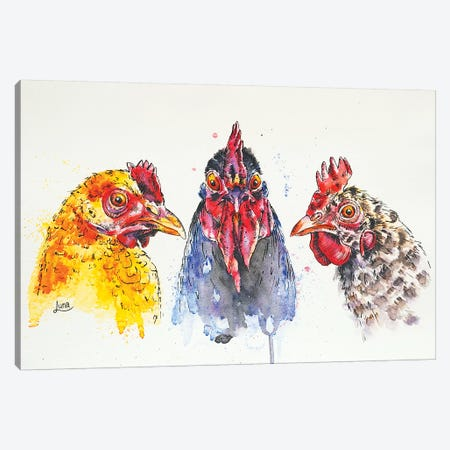 Peep Show Canvas Print #LVE82} by Luna Vermeulen Canvas Artwork