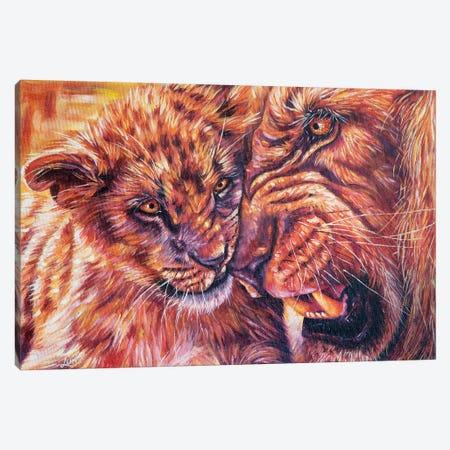 Protege Canvas Print #LVE88} by Luna Vermeulen Canvas Art