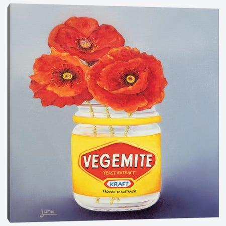 Proudly Austrailian Canvas Print #LVE89} by Luna Vermeulen Canvas Wall Art