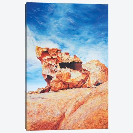 Remarkable Rocks Canvas Print #LVE92} by Luna Vermeulen Canvas Print