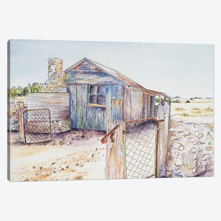 Shed On Yorkes Canvas Print #LVE98} by Luna Vermeulen Canvas Print