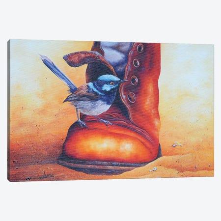 Boot Scootin Canvas Print #LVE9} by Luna Vermeulen Canvas Artwork