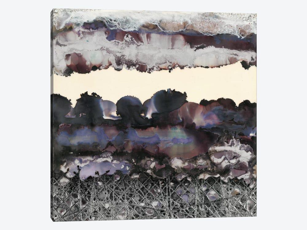 Black & Silver by Laura Van Horne 1-piece Canvas Wall Art