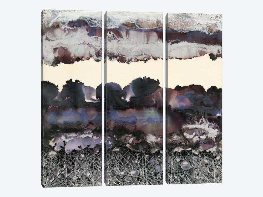 Black & Silver by Laura Van Horne 3-piece Canvas Wall Art