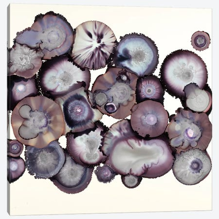 Eggplant Canvas Print #LVH16} by Laura Van Horne Canvas Print