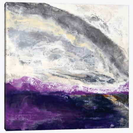 Purple Hill Canvas Print #LVH18} by Laura Van Horne Canvas Art