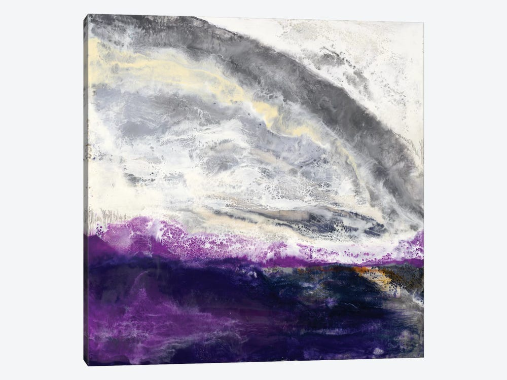 Purple Hill by Laura Van Horne 1-piece Canvas Artwork