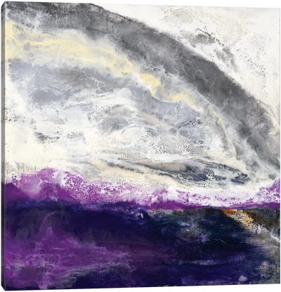 Purple Hill Canvas Art Print