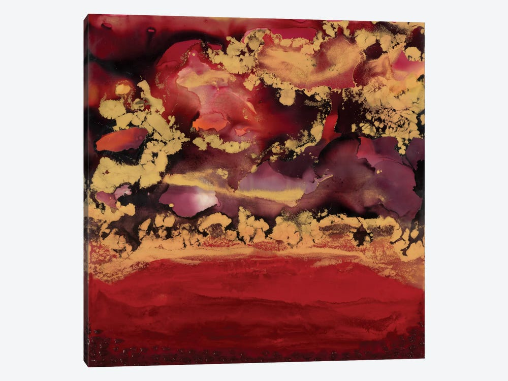 Redscape by Laura Van Horne 1-piece Canvas Print