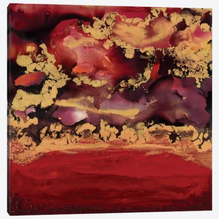 Redscape 3-Piece Canvas #LVH19} by Laura Van Horne Canvas Art