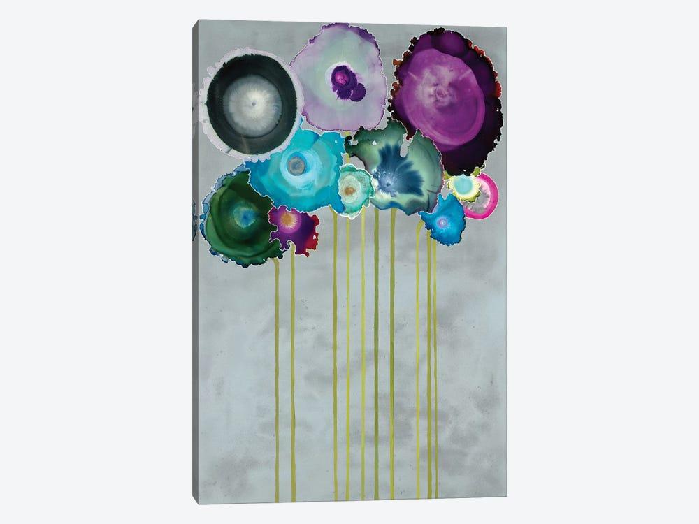 Silver Bouquet by Laura Van Horne 1-piece Canvas Wall Art