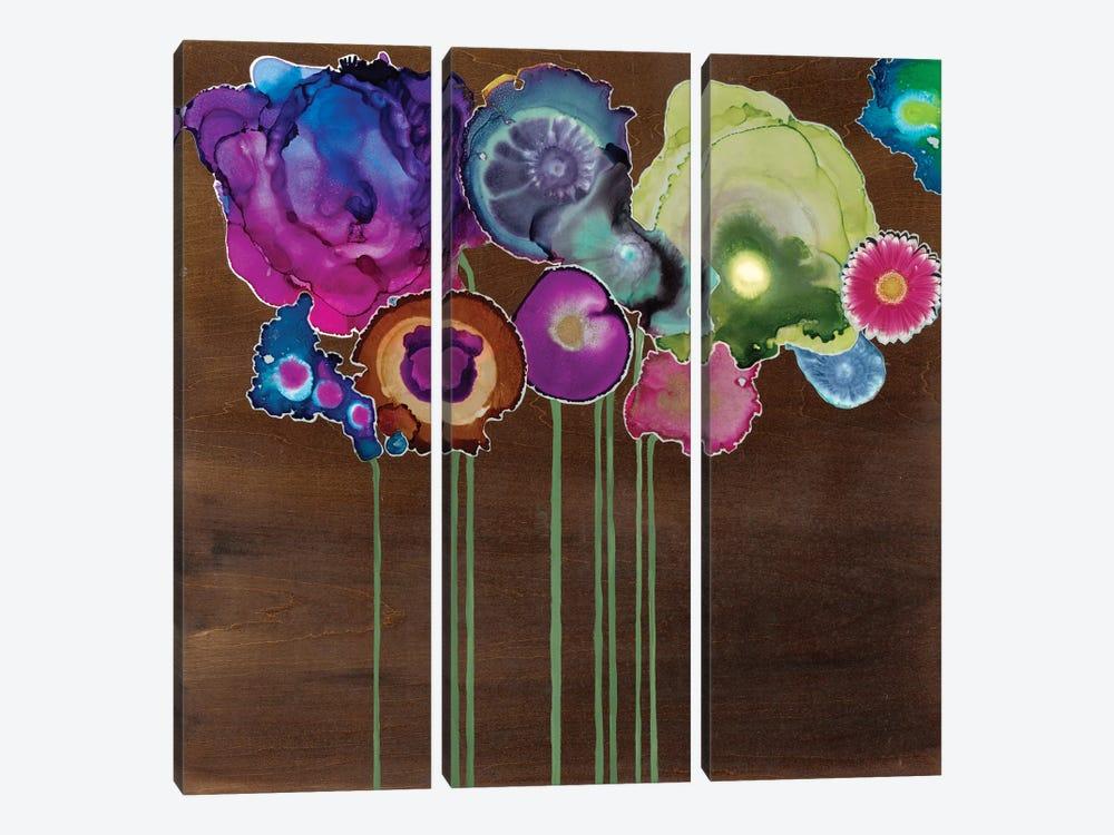 Spring Bouquet II by Laura Van Horne 3-piece Canvas Wall Art
