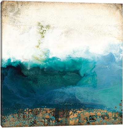 Above Water Canvas Art Print