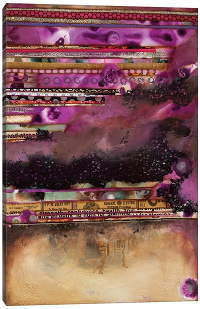 Fuschia on Fire Canvas Art Print