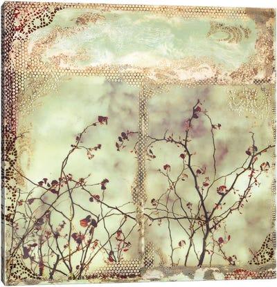Red Leaf Canvas Art Print