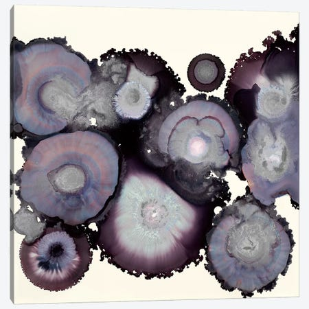 Stormy 3-Piece Canvas #LVH30} by Laura Van Horne Canvas Artwork