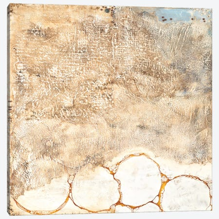 White Texture Canvas Print #LVH32} by Laura Van Horne Canvas Artwork