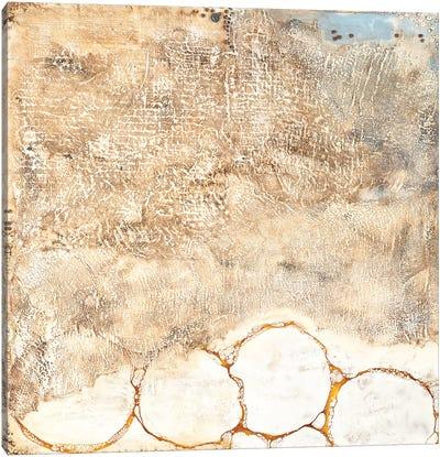 White Texture Canvas Art Print