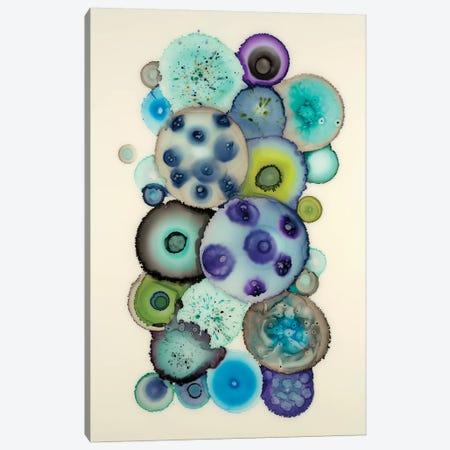 Geodes II 3-Piece Canvas #LVH3} by Laura Van Horne Canvas Print
