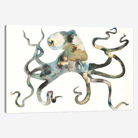 Octo Canvas Print #LVH6} by Laura Van Horne Canvas Wall Art