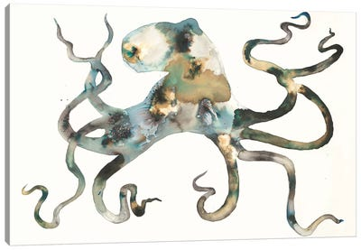 Octo Canvas Art Print
