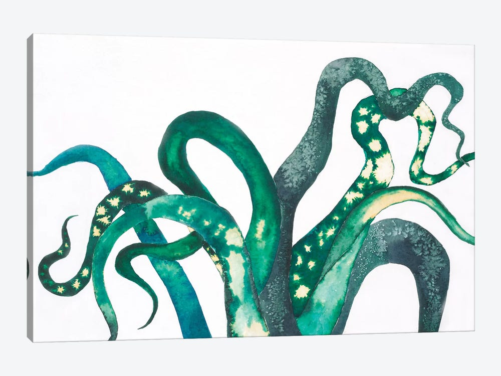 Octo Legs by Laura Van Horne 1-piece Canvas Art