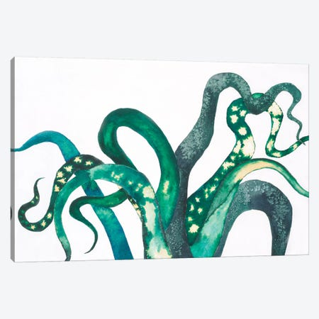 Octo Legs Canvas Print #LVH7} by Laura Van Horne Canvas Wall Art