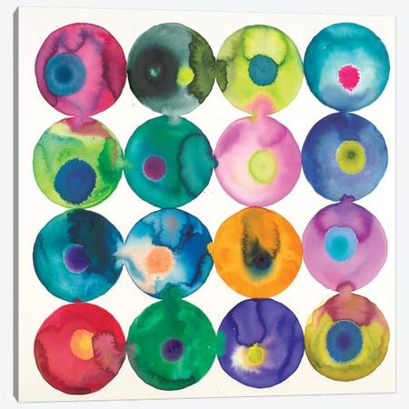 Olives Canvas Print #LVH8} by Laura Van Horne Canvas Art Print
