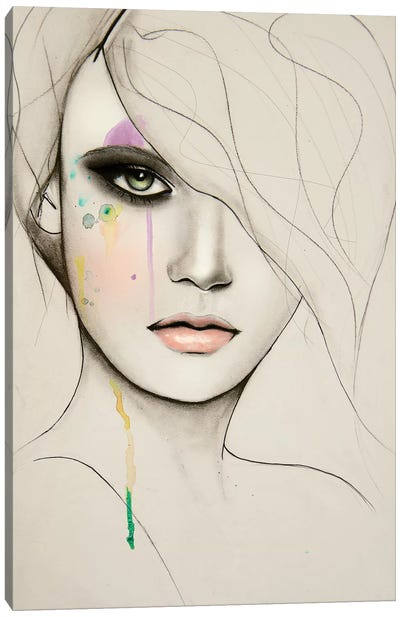 Division Canvas Art Print