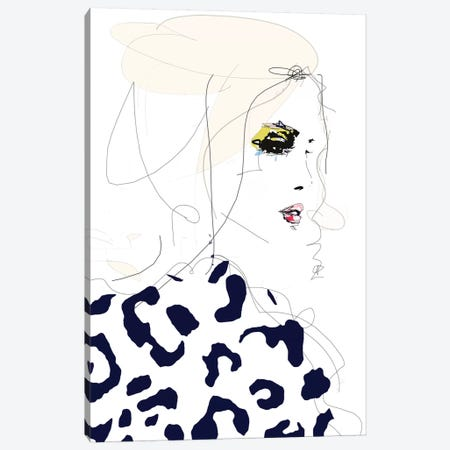 Draw The Line Canvas Print #LVI11} by Leigh Viner Canvas Art Print