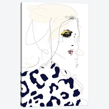 Draw The Line Canvas Print #LVI11} by Leigh Viner Canvas Art Print