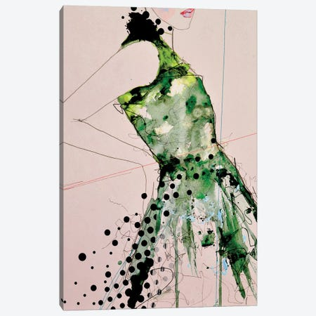 Figure 3 - Vienna Canvas Print #LVI12} by Leigh Viner Art Print