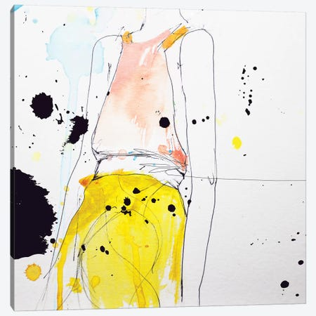 Figure Canvas Print #LVI13} by Leigh Viner Art Print