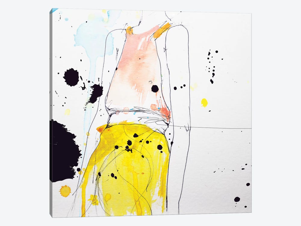 Figure by Leigh Viner 1-piece Canvas Art