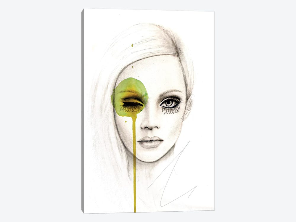 Fused by Leigh Viner 1-piece Canvas Art Print