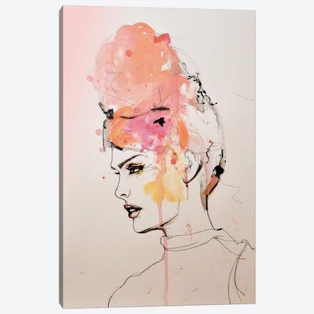 Insouciant Canvas Print #LVI16} by Leigh Viner Canvas Art